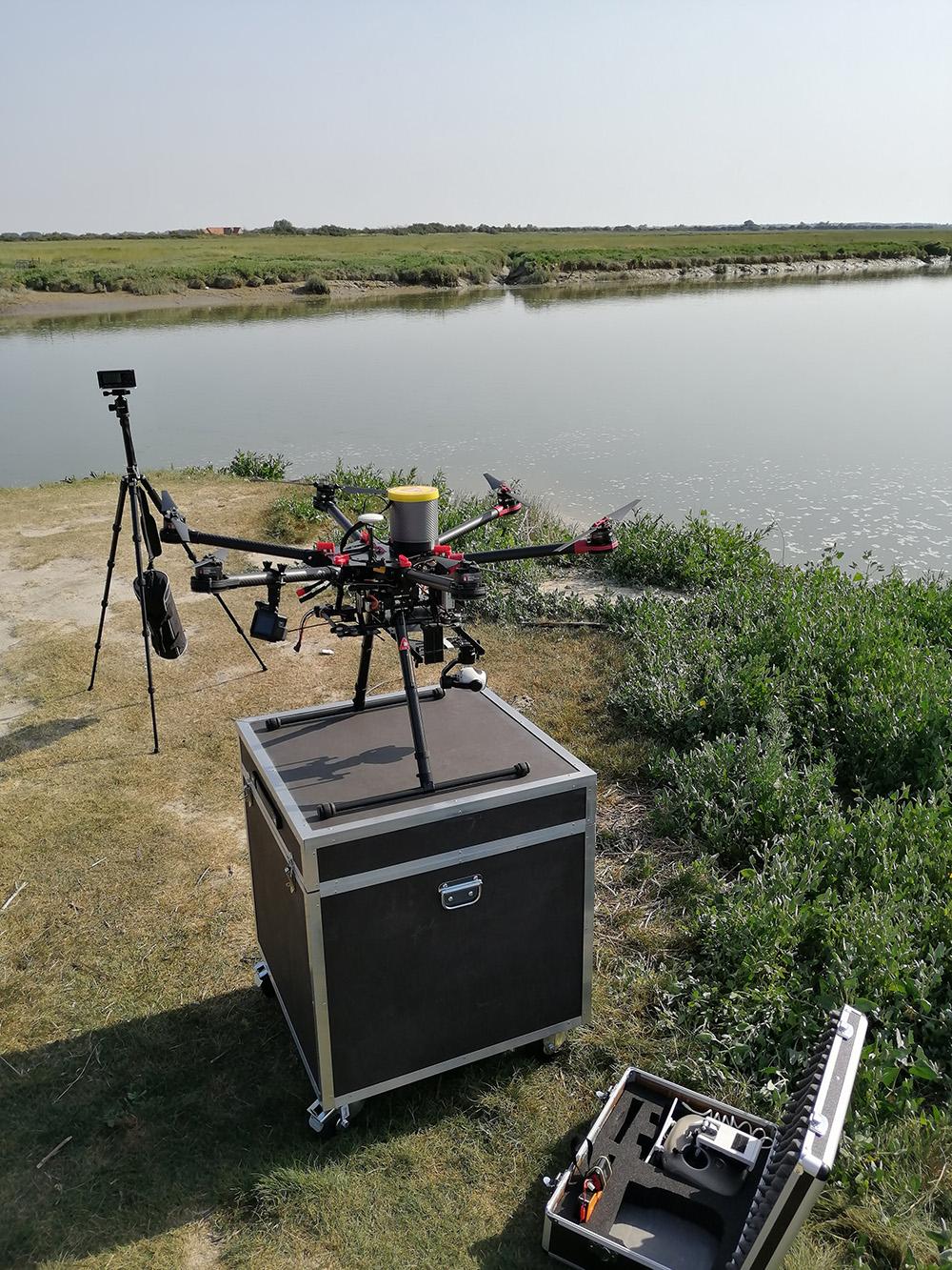 Préparation matériel drone